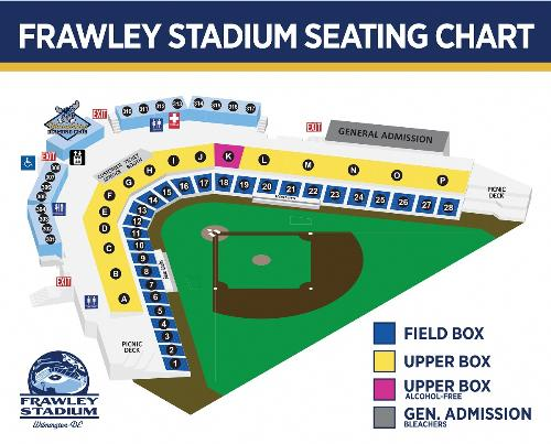 Wilmington Blue Rocks Vs Potomac Nationals On 7252019 Tickets